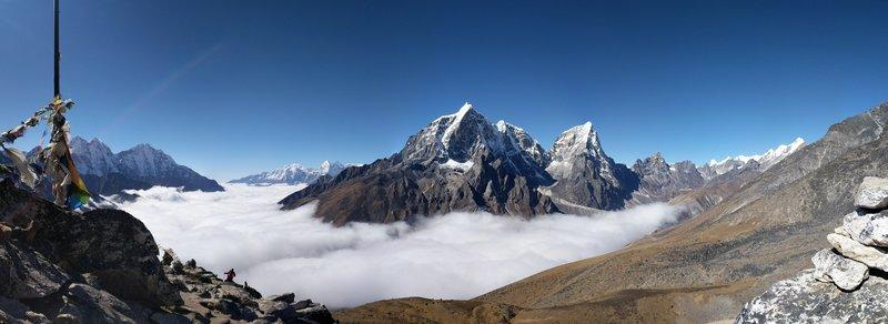 View from Nangkartsang Peak.
