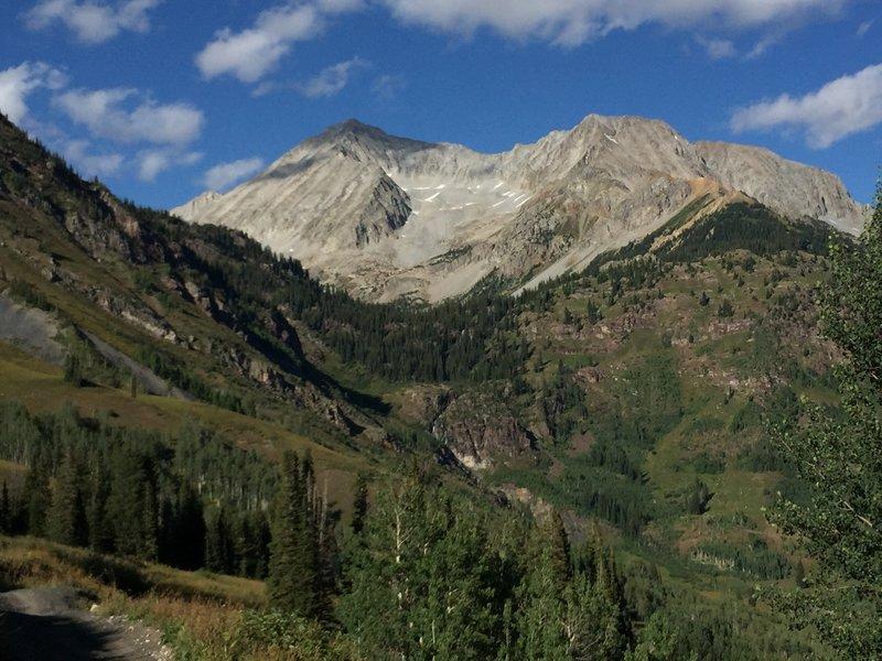 Snowmass Mountain views
