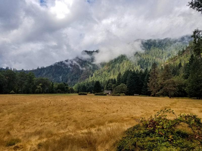 Open meadow near Paradise Lodge.