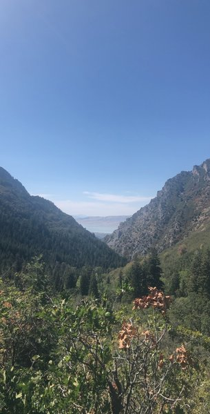 One of the views before the campground.