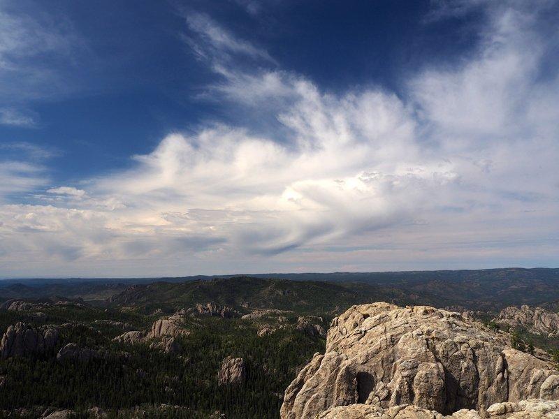 View from the lookout on Black Elk Peak.