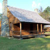 Kron House, just off of Fall Mountain Trail, Morrow Mountain State Park.