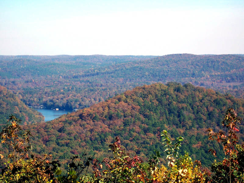 View from Morrow Mountain summit.