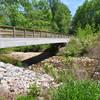 House Creek Greenway bridge over House Creek.