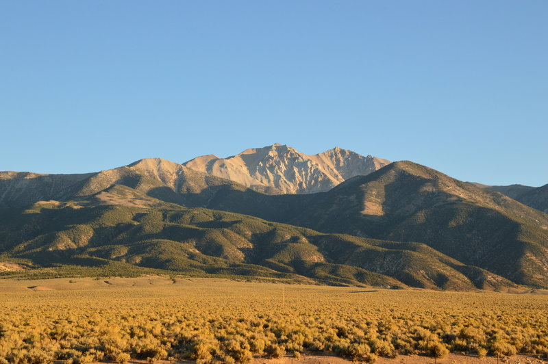 Boundary Peak as seen from US-6.