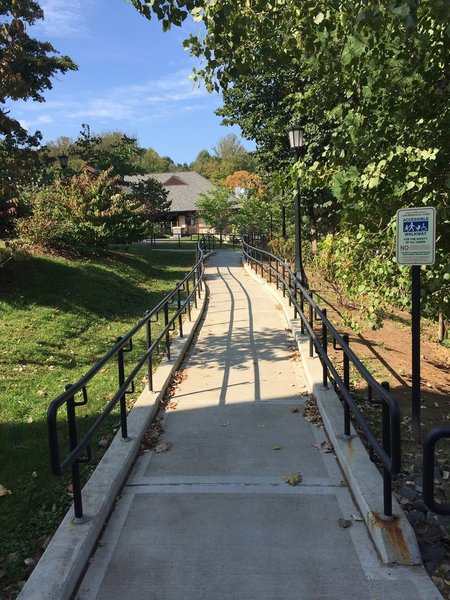 ADA Accessible Ramp - Law Park Walking Path