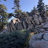 Boulders at the top