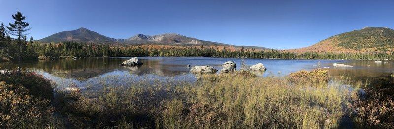 Sandy Stream Pond panorama 10/13/17