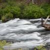 Rapids along the river