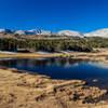 A small lake before you reach Summit Lake