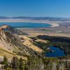 Mono Lake and Walker Lake from just below Lower Sardine Lake