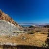 As you descend into Bloody Canyon, the views of Mono Lake get better and better