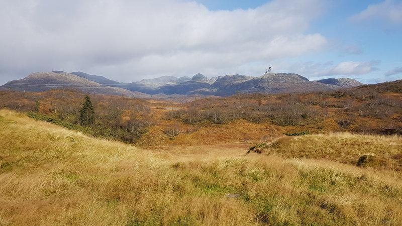 Utsikt fra Fossdal