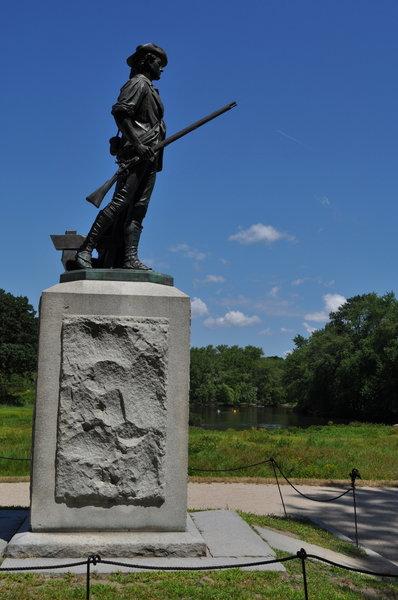 Minuteman Statue - Concord