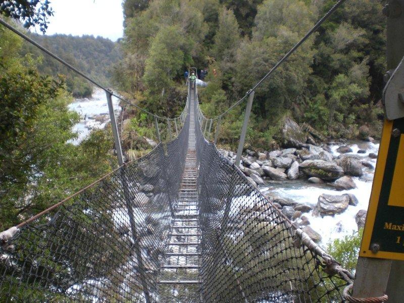 Creek crossing along the way