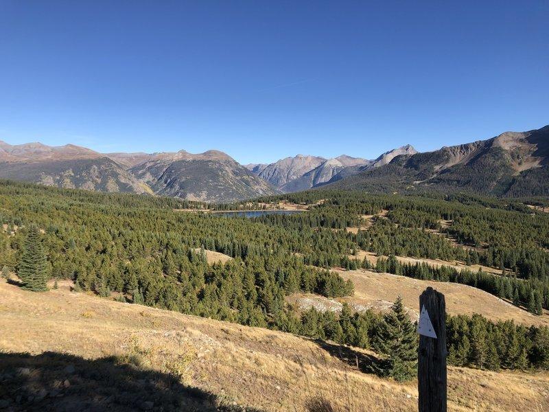 Little Molas Lake from the Colorado Trail near Silverton