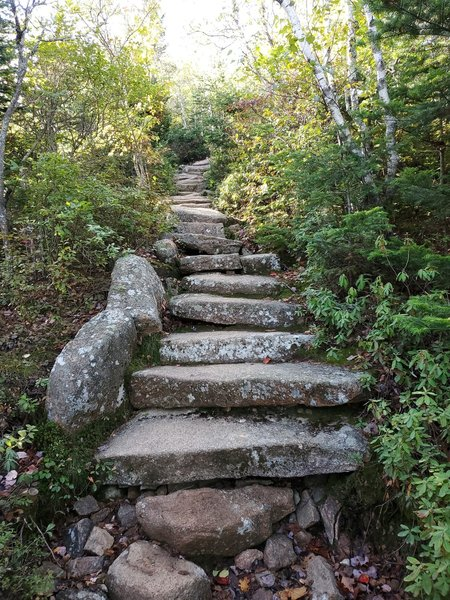 Stone staircase, ascending