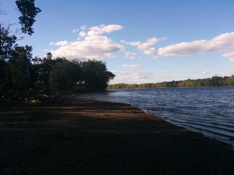 Potomac River at Goose Creek on the Potomac Heritage Trail