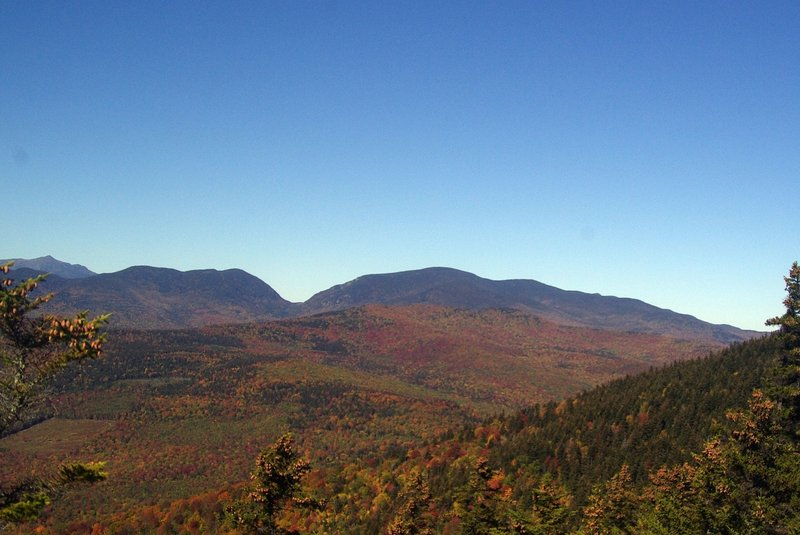 View from New Trail looking toward Carter Notch.