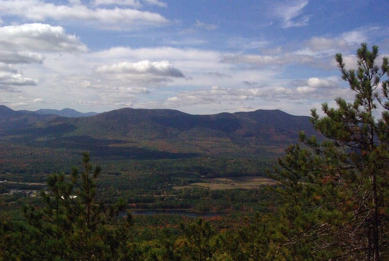 View from Middle Mountain