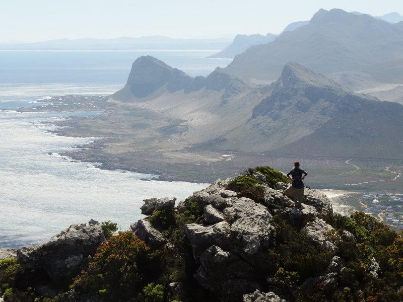 View of Pringle and False Bay
