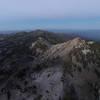 Sunset Peak from Ridge Trail.