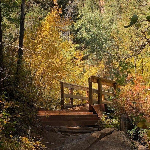 Bridge #7 in early October