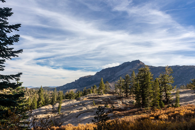 Silver Peak from Pacific Crest Trail