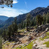 Looking towards Tryon Peak from Pacific Crest Trail