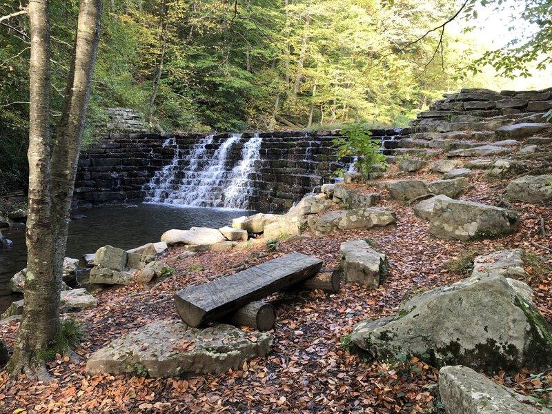 Jones Mill Dam built by CCC