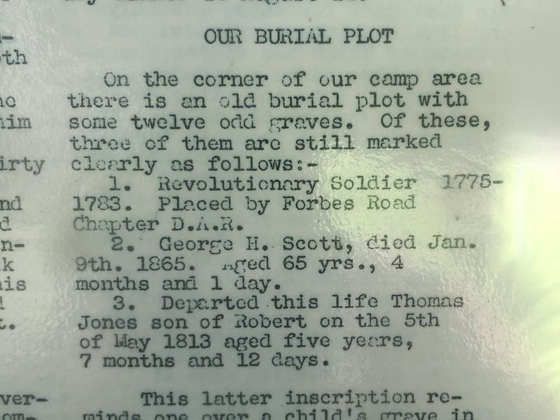 Jones Scott Singo Cemetery Information