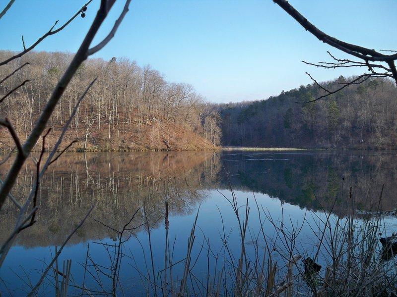 Noblett Lake April 2014