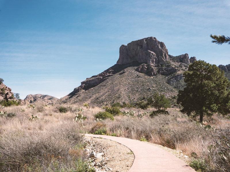 Casa Grande Peak from the Window View Trail