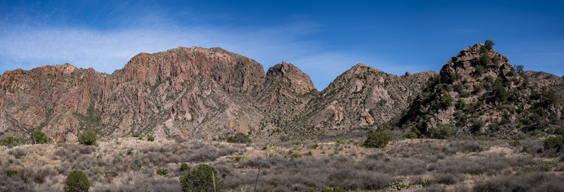 Chisos Mountain Panoramic