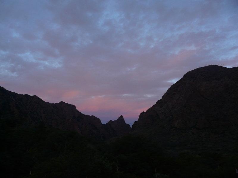 Window View Sunset