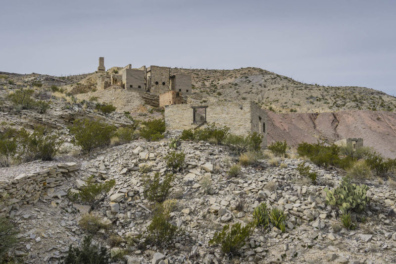 The Mariscal Mine is worth a short detour and makes a nice place for a break.
