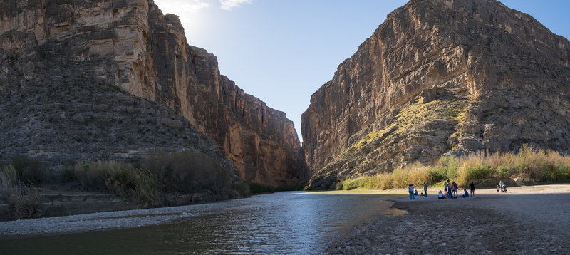 Santa Elena Canyon Panoramic