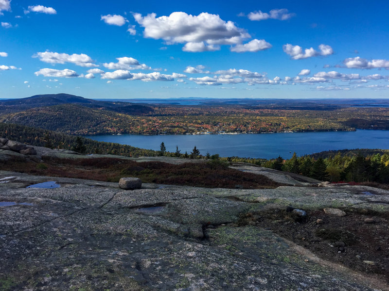 Parkman summit view