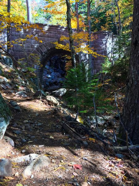 Hadlock Falls bridge