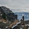 Mount Saint Helens from the Coldwater Peak ridge