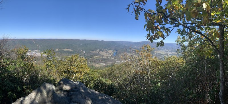 View from Angels Rest, Giles County Virginia