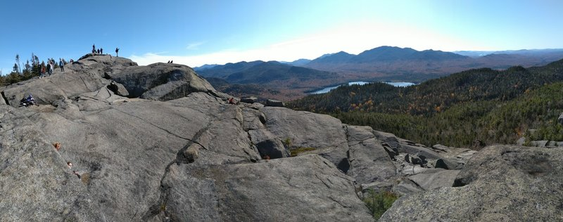 Top of Ampersand Mountain