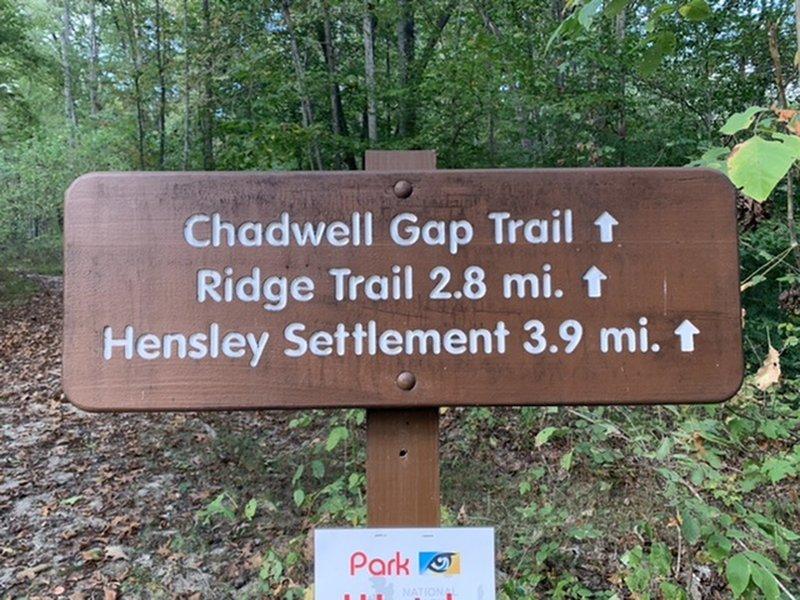 Chadwell Gap Trailhead