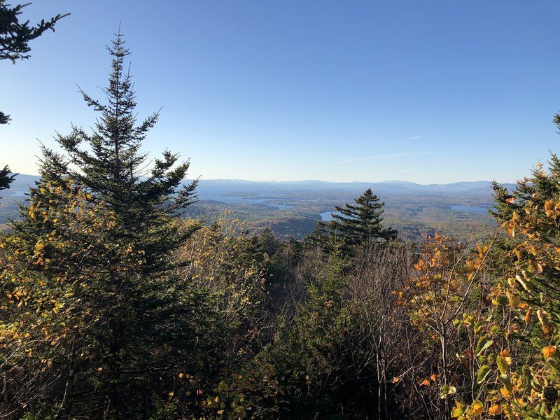 View from Coppple Crown Summit