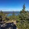 View from overlook at Schoodic Head