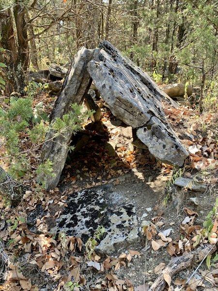 Stone tent