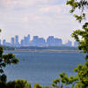 Boston Skyline from World's End