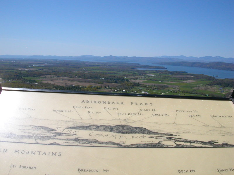 View from Mount Philo