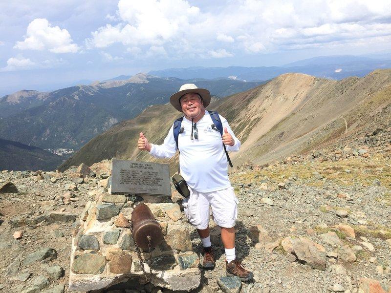 Wheeler Peak at 13,161 feet!