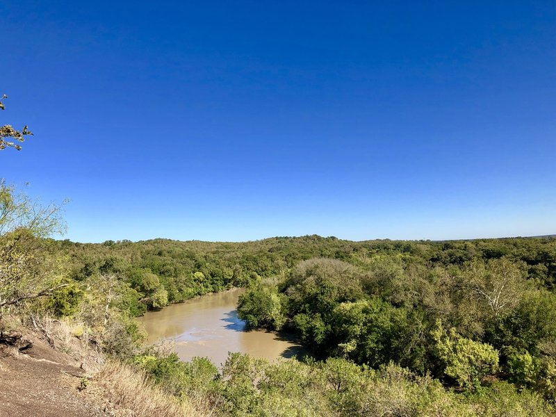 Overlook of Colorado River on Trail Bluff Loop
